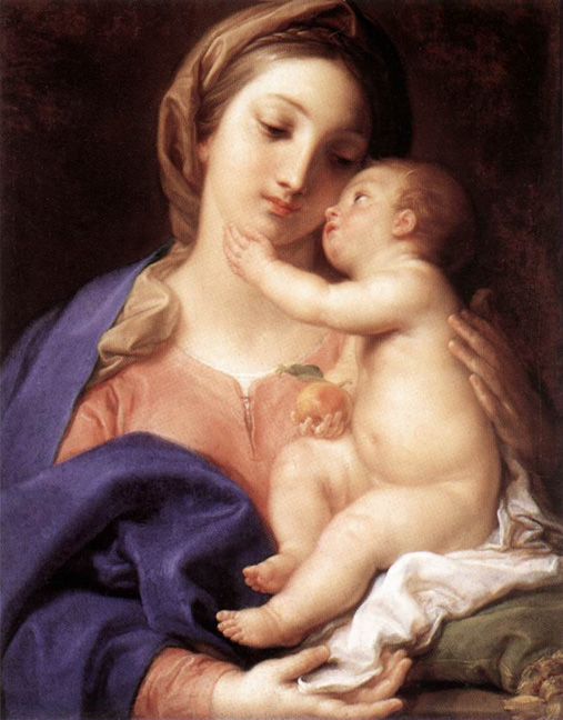 Madonna and Child - Batoni